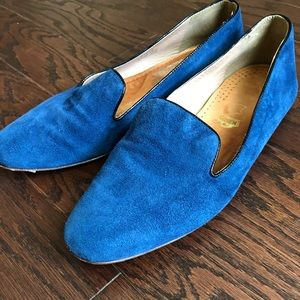 J. CREW Women's Darby Suede Loafers Flats Shoes
